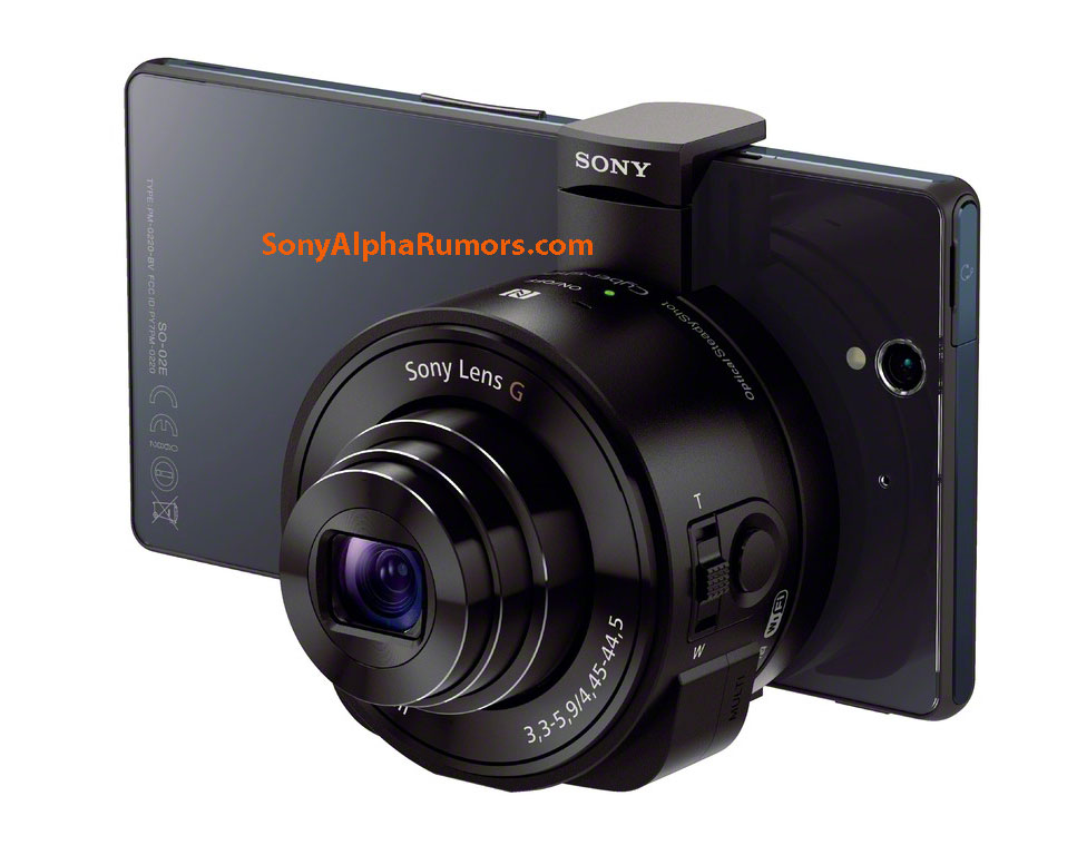 "Sony QX Series ""Lens-Style Cameras"" official Announcement"